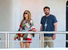 Jennifer Lopez e Ben Affleck a Saint Tropez
